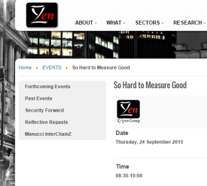 Zyen So hard to measure good 24Sep15